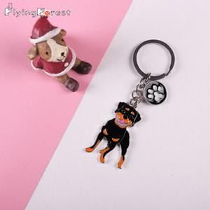 Best Friend Takı Kadın Metal Pet Köpekler Zinciri Pug Ayaklar kolye Golden Retriever Anahtarlık Anahtarlık Araç Anahtarlık Hediye