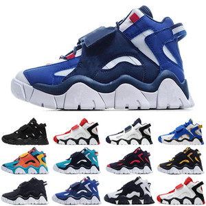 ar quentebarrage meados QS baixo jumpman homens universitário preto tênis de basquete triplo dos homens azuis vermelho formadores sporst sneakers tamanho 7-13