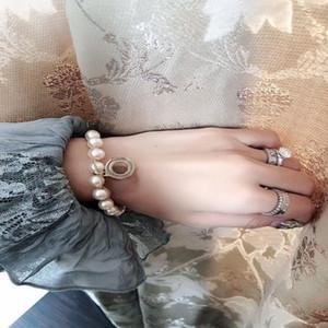Parti Nişan Moda İnci Jewyelry Kadınlar için Pullar Gelin Düğün Hediyesi Bilezik Bilezikler Kutusu PNPPB ile Severler Var