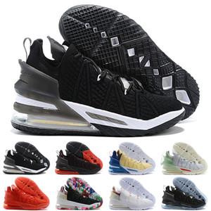 2020 XVIII 18 Gang Oreo Gelecek Erkekler Kadınlar Basketbol Ayakkabı Jade Beyaz Siyah Pembe Örme 18'ler Erkek Spor Sneaker