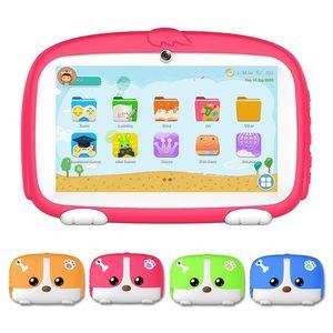 WeCool Q738 7 pouces Android 9.0 1 Go / 16 Go puce A50 enfants Tablet PC avec les parents et le contrôle App enfants Jeux éducatifs Comprimés