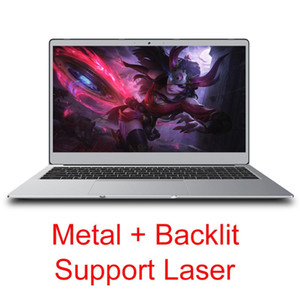 15.6 inch Laptop With Backlit Keyboard 8G RAM 1TB 512G 256G 128G SSD Gaming Laptops Computer With Metal Body IPS Screen Type-c