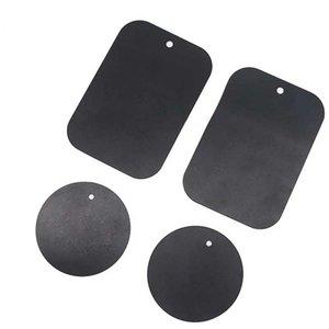 Heißer Verkauf Metallplatte universellen Ersatz Metallplatten Kit mit Klebstoff Magnetische Halterung in Auto-Magnet Auto-Handy Ständer