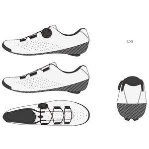 Hyper Cycling C8 Semi-custom Road Bike shoe Hand made Carbon Cycling shoe road Carbon Lake BONT Verducci