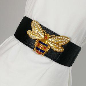 Plus size Gürtel Frau Taillengurt für Frauen ceinture femme elastischen breiten cummerbunds schwarzes Leder Korsett Gürtel 2020