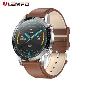 LEMFO L13 relógio inteligente ECG heartrate Bluetooth Chamadas full touch Smartwatch IP68 Waterproof Assista Homens Para Android IOS PK Assista GT2