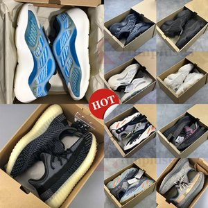 Adidas Yeezy Boost 350 V2 Nuovo Kanye West V3 Azael Alvah 700 Ospedale Statico Magnet corridore onda Running Shoes 500 Nero Bone Oreo Asriel Sport Sneaker con la scatola