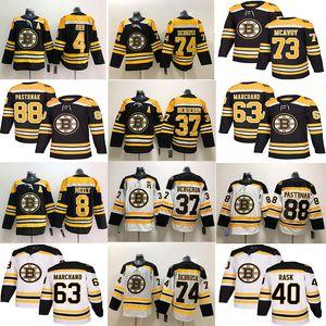 BostónBruins Hockey Jerseys 33 Zdeno Chara 8 Cam Neely 88 David Pasterrnak 63 Brad Marchand Charlie McAvoy 74 Jake Debrusk 46 Krejci