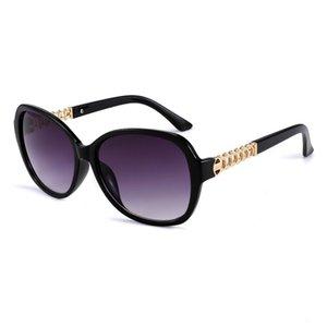 Brillen Übergroße Frauen Sonnenbrille Kunststoff Mode Große ovale Rahmen Sonnenbrille Keepioneer Form Runde Weibliche Farbverlauf Shades Pvher