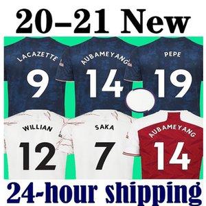 2020 2021 WILLIAN Kırmızı futbol formaları Arsenal Gunners  20 21 taraftar uzakta gömlek kitleri Camiseta de futbol maillot ekipman