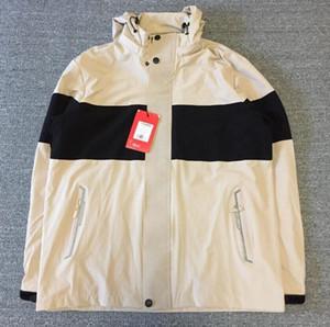 Новая куртка мужская женщин девушки пальто нового производства с капюшоном куртки с буквами Ветровка на молнии толстовки для мужчин Sportwear Топы Одежда