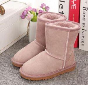 الأطفال 5281 التمهيد الأحذية نيو كلاسيك الشتاء الأطفال للماء الشتاء الدافئ الأحذية الفتيان والفتيات والأطفال الثلوج الأطفال الأستراليين حذاء الثلوج