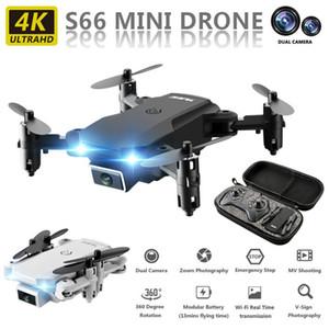 RC UAV 4K HD Dual Camera Remote Fotografia di controllo Drone quattro assi Aircraft HD aerea UAV radiocomandato Helicopte elettrico giocattolo di RC