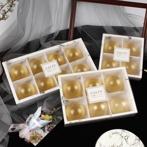 투명한 서리로 덥은 케이크 상자 월병 케이크 팩 포장 상자 디저트 마카롱 박스 과자 박스 GWC2466 포장