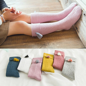 Baby New Arrival Autumn Winter Toddler Girls Bow Soft Cotton Children Knee High Hosiery Socks