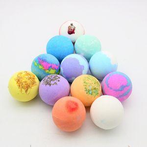 Oil Bath Essential Monochrome Ball Gift Box With Aromatherapy Essential Oil Explosion Ball Milk Bath Salt BallRabin