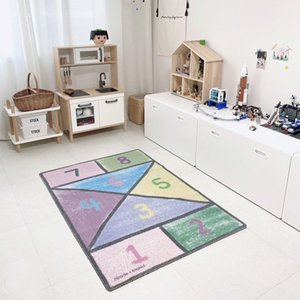 100x145cm Non-slip Baby Child Room Creeper Mat Infant Game Tent Pad Restaurant Hotel Area Rug