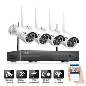 Systems hereeu 8CH 1080P sans fil NVR Kit 2MP Sécurité extérieure à distance Accès IP Caméra P2P CCTV CAMERAS Système de surveillance vidéo