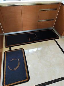 욕조 Bedsides 여신 카펫 패션 편지 주방 바닥 매트 욕실 손 세척 싱크 사이드 카펫 홈 장식 카펫 인쇄하기