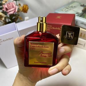 Maison Francis Kurkdjian Baccarat Rouge 540 Extrait de Parfum Neutro Floral Fragranze floreale 70ml EDP Top Quality ad alte prestazioni