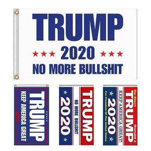 14 Styles Trump Drapeau 2020 Election Trump Drapeau Bannière 90x150cm Keep America Grand Décor bannière numérique Imprimer Trump Flags YYB1608