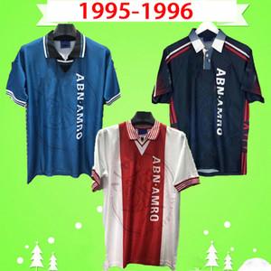Ajax 1995 1996 Retro Fußball-Trikot 3. Zuhause weg dritte klassische Vintage antike 95 96 Fußballhemd Kluivert Rijkaard Litmanen Overmars