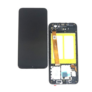 Samsung Galaxy A20e SM-A202F A202F ile Çerçeve Montaj Yedek Parçalar Black için 5.8 Lcd Ekran Ekran Digitizer
