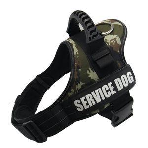 Servizio del cablaggio del cane, No-Pull IN FORMAZIONE cablaggio della maglia, riflettente traspirante regolabile Pet Cavezze per Small Medium Large Dog