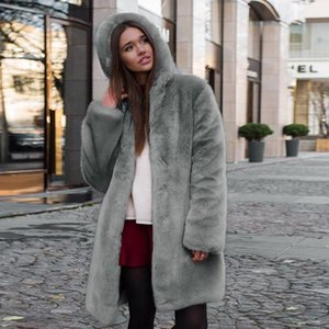 Winter Coat Women High Quality Faux Fur Coat Luxury Long Fur Jacket Loose Overcoat Teddy Thick Warm Plush Jacket