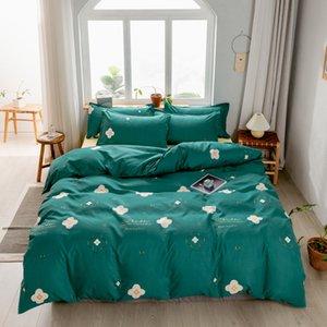 cotton luxury four-piece suit quilt cover bedding sheet bed sheet set