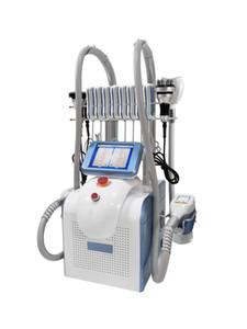 2020 Cryolipolyse Ultraschallkavitation Maschine Lipo Laser 40k Fett Fett Einfriermaschine Doppelkinentfernung Laser Abnehmen Schönheit Ausrüstung