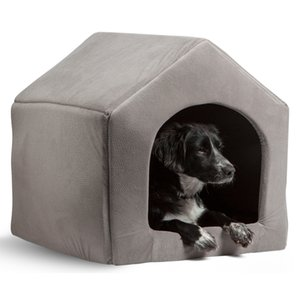 High Quality Pet Products Luxury Dog House Cozy Dog Bed Puppy Kennel 5 Color Pet Sleeping Bed Cat Cushion Kitten Mats Pet Shop T200618
