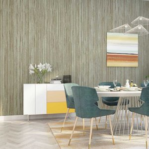 Wallpapers Papers Strip Wall Modern Home Decor Vertical Stripes Linen Contact Paper For Living Room Bedroom Walls Mural Papel De Parede