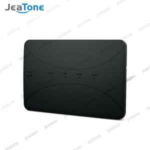 Jeatone Wireless WiFi Box for Analog Video Doorphone Intercom نظام التحكم 3G 4G Android Tuya App على الهاتف الذكي