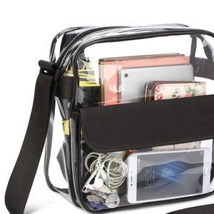 Women bags Transparent single shoulder slung travel shopping bag gym beach bag storage bag sac a main S11