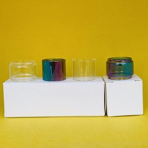 SMOK TFV8 Baby 3ml RBA Tank Normal Bulb Clear Rainbow Glass Tube Extension Convex Bubble Replacement 1pc box 3pcs box 10pcs box