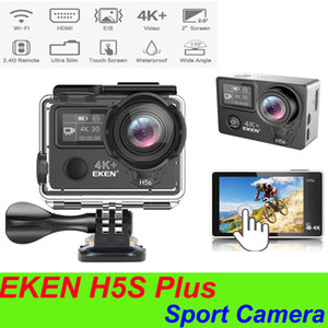 Top Sell EKEN H5S plus EIS Native 4K Ultra HD 2 inch touch screen Action Sports Camera WIFI HDMI 170 Wide Angle