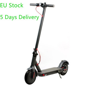 EU Stock Adults Folding Electric Scooter 2 Wheel 500W Foldable kick e scooters 8.5inch tire Mini Electric Bicycle 25Km h