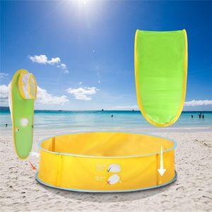 Baby Beach Tent UV-protegendo Sunshelter Brinquedos Casa Pequena toldo impermeável Tendas portátil Ball Pool Crianças Tendas VT1638
