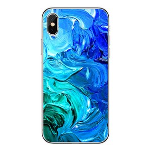 I-phone 12 Phone Case Marble Cell Phone Cases For I-Phone 12 12pro Max Xs Xsmax Shell Oil Painting Watercolor Shell Cell