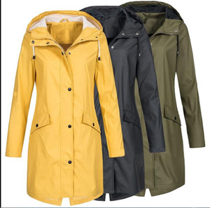 Hot Sales! women classic fashion british middle long trench coat high quality brand designer england trench for women size S-5XL 5 colors