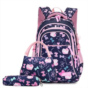 Kids Printing Backpacks Set Schoolbag Waterproof Children School Bags For Girls Princess School Backpacks Kids Mochila Infantil