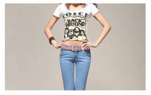 Hot selling fashion new cool rivet women belts wide versatile jeans style belts Fashion womens accessories