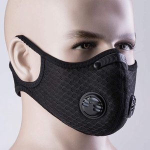 Filter with Designer Luxury Anti-pollution Activated Cycling Pm2.5 Face Carbon Sport Running Training Protection Dust Mask Anti-droplet