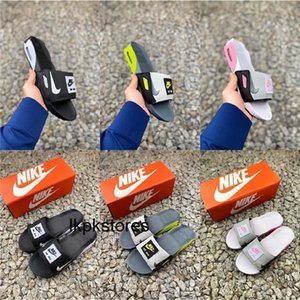 2020 Nike air max 90 Slide Smoke Grey Volt Black White Rose Cool Grey Men Women 90s slippers Home Casual Shoes luxury designer shoes