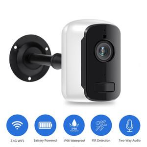 1080P WIFI كاميرا في الهواء الطلق بطارية قابلة للشحن بالطاقة 2MP كاميرا IP لاسلكية الأمن PIR ماء 110 زاوية عرض واسع Tosee