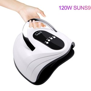 120W Nail Dryer UV LED Nail Lamp for Manicure Dry Drying Gel ice polish Lamp Sun Light 42 LED auto sensor Art Tools