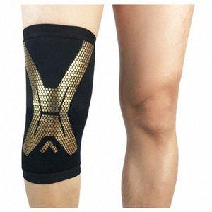 All'ingrosso 1Pcs Sport Knee Pad Ciclismo traspirante ginocchio della gamba di supporto Brace Wrap protezione del ginocchio rilievi di pallacanestro Ginocchiere 4 colori ozLl #