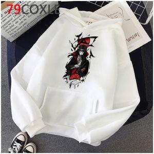 Naruto Akatsuki Hoodies Men Japanese Anime Itachi Streetwear Kawaii Cartoon Sasuke Graphic Sweatshirts Unisex Tops Hoody Male hoodies 2