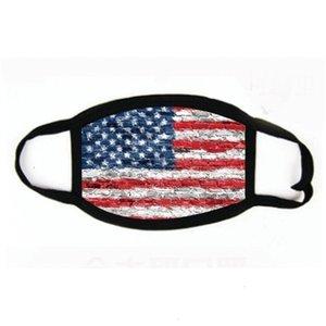 Máscara facial Trump Elección Listo Presidente de los EUA Cotton American Mouth 2020 impresa letra del partido Er facial máscaras protectoras de diseño # 622